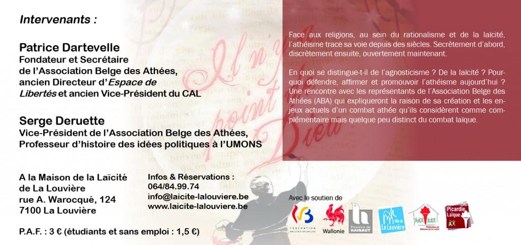 La Louvière_L'athéisme, une necessité_Invitation2